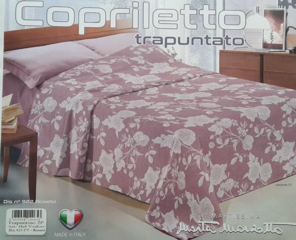 Fhp 01716 Trapuntine Primaverili Matrimoniali Fashion Home Pagano Copriletto Trapuntato Matrimoniale Marta Marzotto