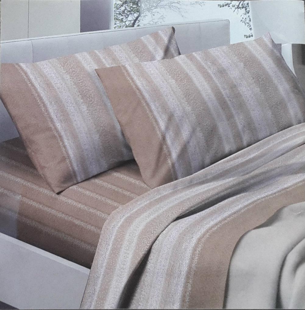 Lenzuola Flanella Matrimoniali Bassetti.Fhp 01826 Lenzuola Cotone Fashion Home Pagano Completo