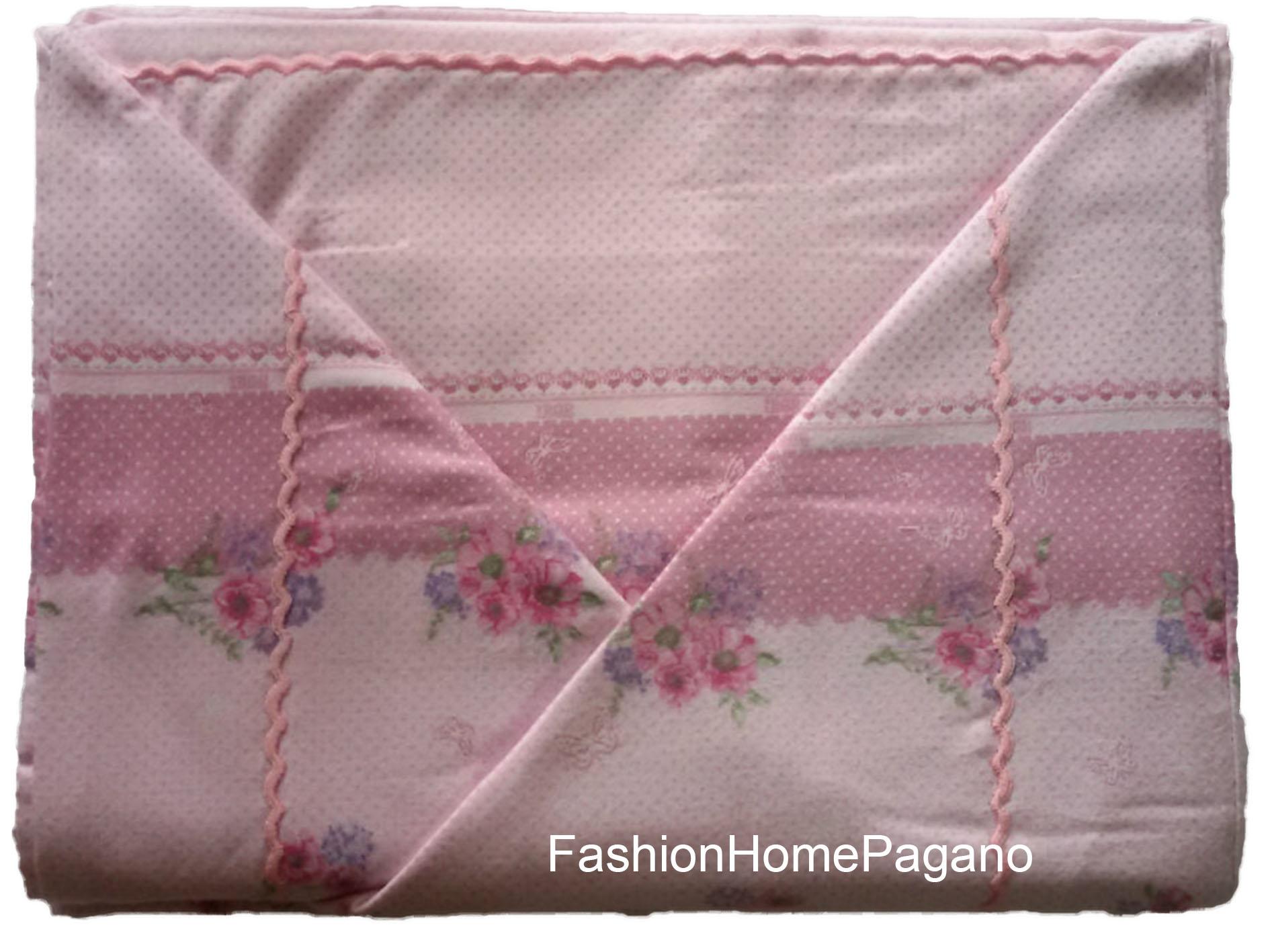 Lenzuola Di Flanella Matrimoniali.Fhp 00283 Lenzuola Flanella Matrimoniali Fashion Home Pagano
