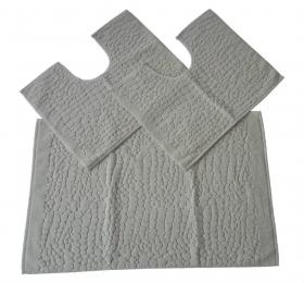 Tris tappeti bagno - fashion home pagano